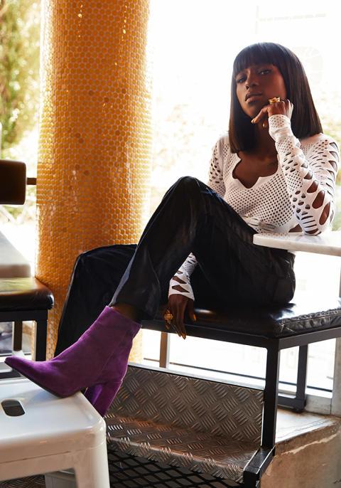 Sabina Ddumba för Scorett