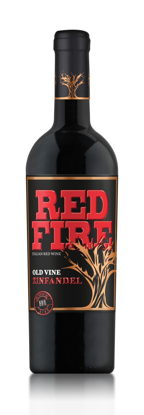 Red Fire Zinfandel – Lihapitoisen illallisen kruunu