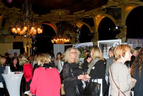 Lyxtorsdag den 19 januari på Café Opera i Stockholm.