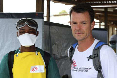 Stefan Liljegren i Monrovia, Liberia
