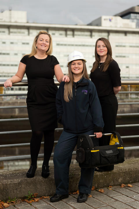 Three sisters in engineering
