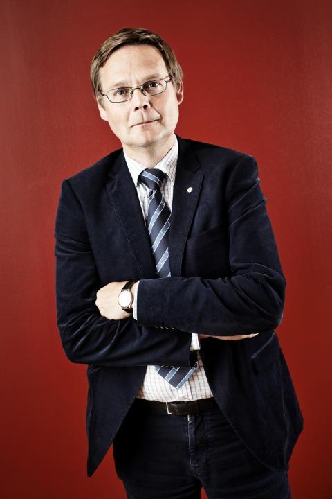 Rektor Luleå tekniska universitet, (stående/röd bakgrund)