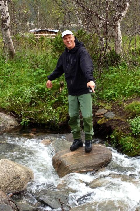 Tom Rune Eliseussen har ansvaret for salget av hyttetomtene i Statskog