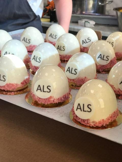 Känd konditor bakar till förmån för ALS-forskningen