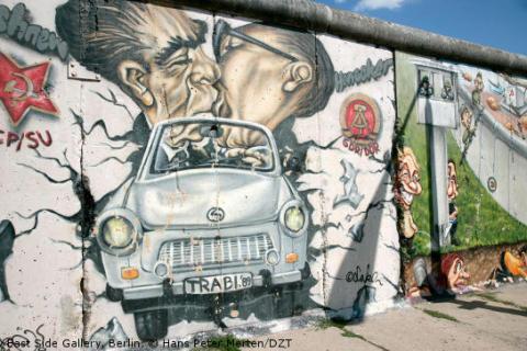 25 år efter Berlinmurens fall: Dela dina bästa DDR-bilder och var med i Tyska Turistbyråns Instagram-tävling