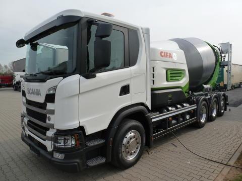 Scania G 410 CNG Betonmischer Cifa