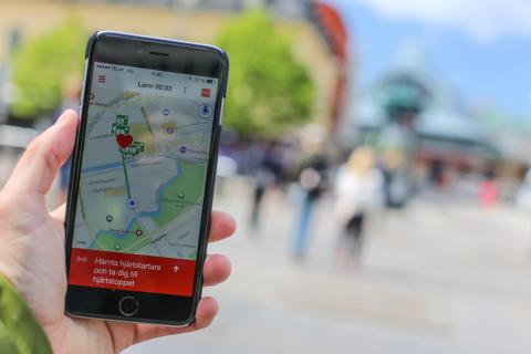 Rekordstort intresse för SMS-livräddare