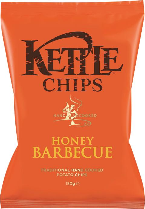 Kettle chips honung barbecue