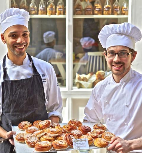 Acclaimed Swedish bakers team up to open their first London store