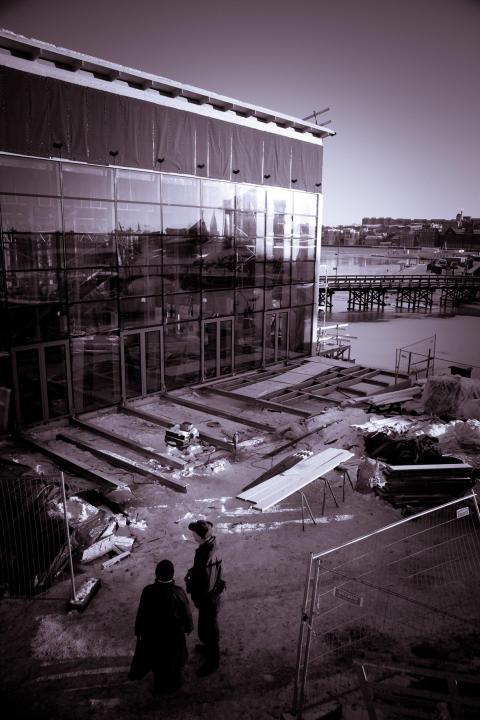 Einar Mattsson bygger nya Oaxen