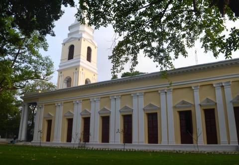 Sankt Olav Kirke i Serampore i nyrestaureret stand