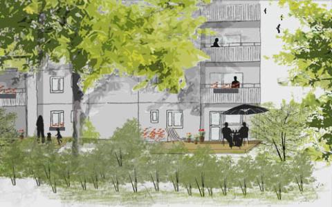 Botkyrkabyggen lanserar TrädgårdsBo som nytt koncept
