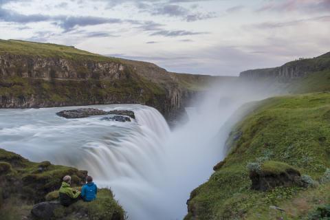 Isländskt vattenfall 2