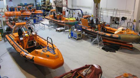 Versatile and seaworthy engineer responsible for the workshop