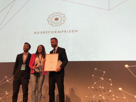 Rusreformprisen 2019