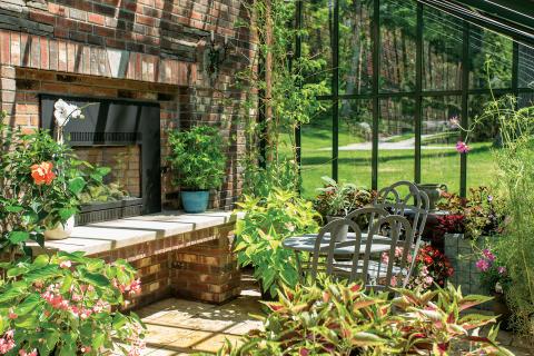 inred ditt växthus från Vansta Trädgård