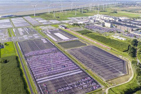 Volkswagen øger brugen af grøn elektricitet på deres fabrikker