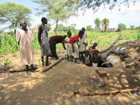 Sudan: Att gömma sig för bomber