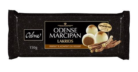 Marcipan med lakrids