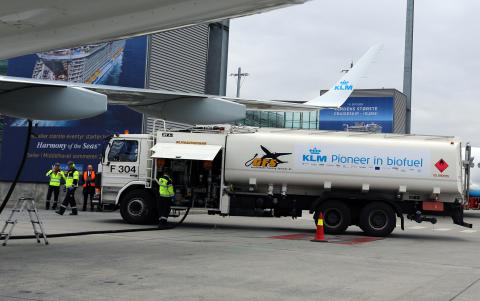 Biojet fuel at Oslo Airport
