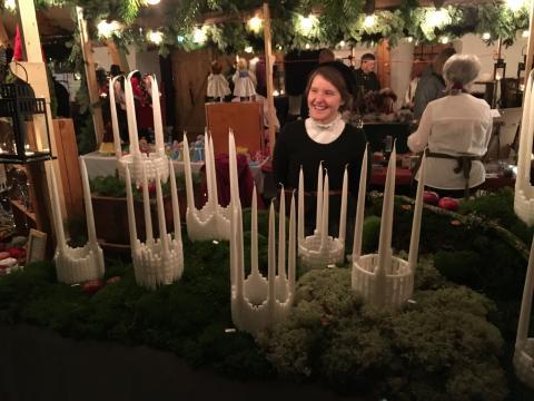 Dags för traditionell julmarknad i Slottslängorna