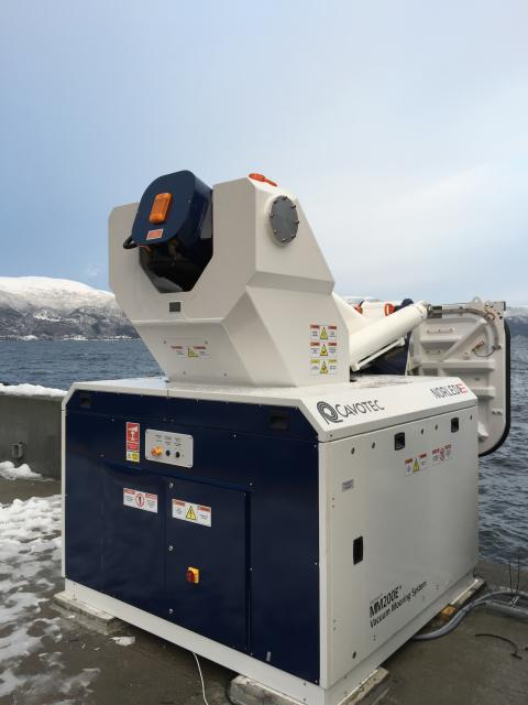 MoorMaster™ automated mooring unit at Lavik passenger ferry berth in Norway