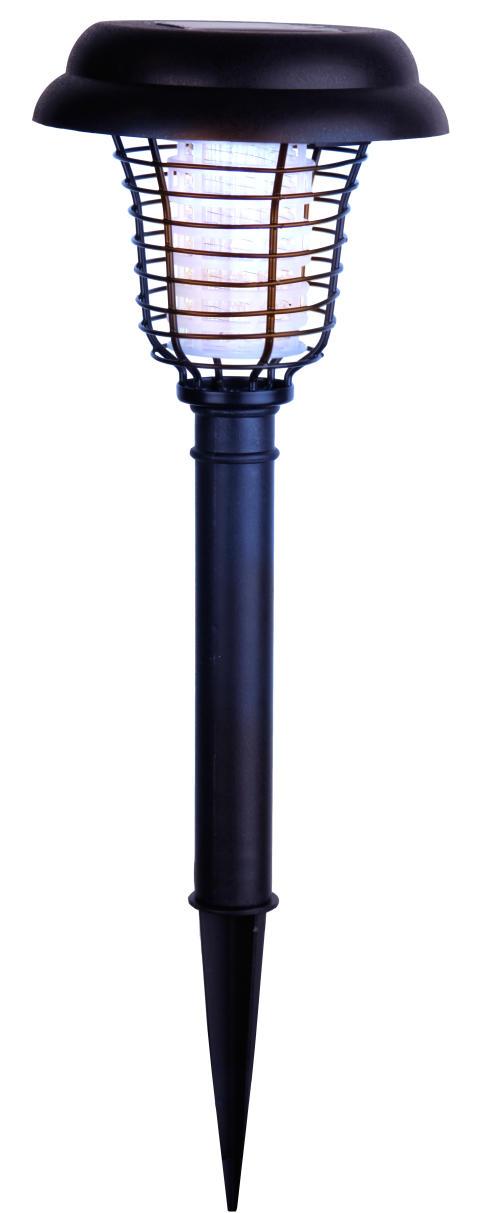 Solcellsladdad mygglampa LED