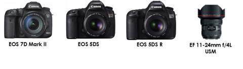 Tre Canon EOS- og EF-produkter høster anerkjennelse fra EISA