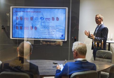"""Flowscape utvald Smart Office-lösning på svenskt """"Experience Center"""""""