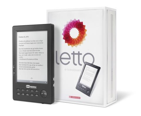 Adlibris lanserar Letto – en svensk läsplatta