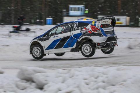 Alexander Westlund från Torsåker slutade som bästa svensk i premiären.
