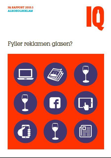 Ny rapport från IQ: Fyller reklamen glasen?