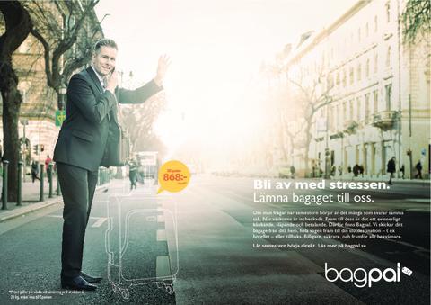 Ett nytt sätt att resa med Bagpal Scandinavia!