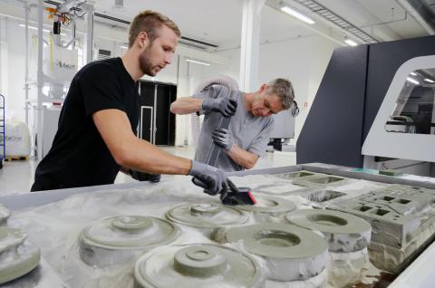 Swerea SWECAST tar tekniksprång med 3D-skrivare