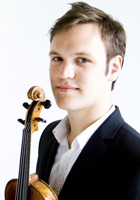 100 000 kr till ung violinst – Daniel Migdal
