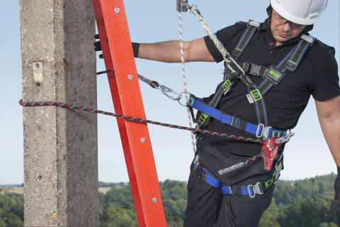 Honeywell præsenterer de nyeste sikkerhedsløsninger til komplekse opgaver ved arbejde i højden på udstillingen WindEnergy 2014