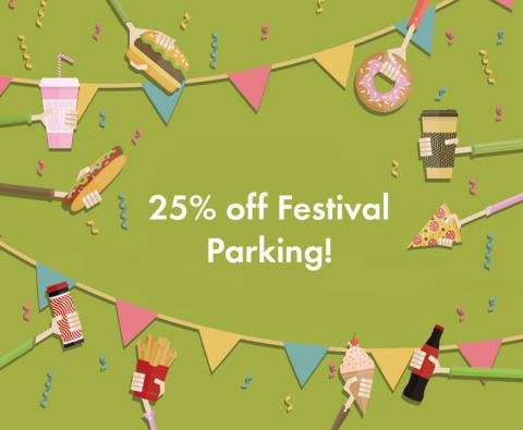 25% Off Parking for Manchester Food & Drink Festival