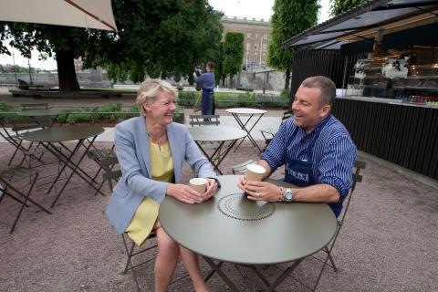 Ulla Hamilton (M): Nu öppnar caféet på Strömparterren