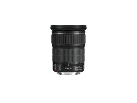 EF 24-105mm f3.5-5.6 IS STM Side without cap
