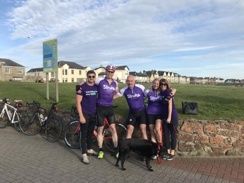 Walkington stroke survivor completes 200 mile bike ride to mark 20th anniversary of stroke