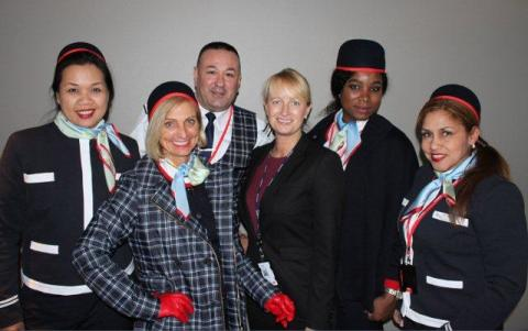 uniforme norwegian airlines