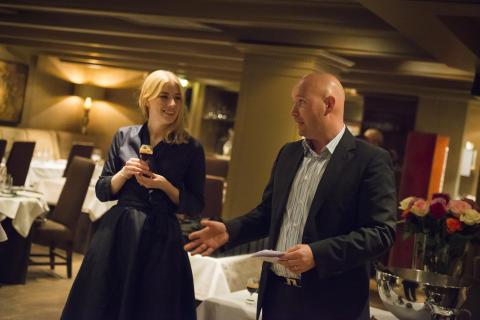 Mari Lønne Wergeland og Dan Lystad