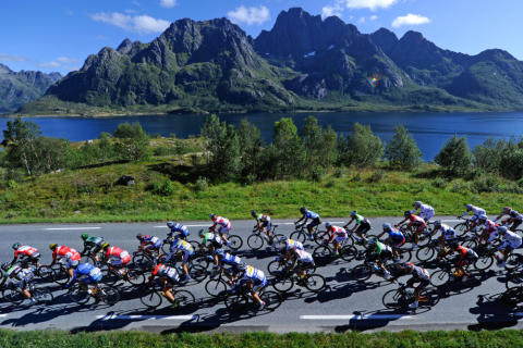 The global cycling elite to compete in northernmost race on earth - in Northern Norway