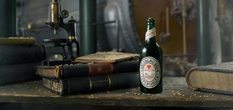 Carlsbergs laboratorium har återskapat historisk öl från 1883