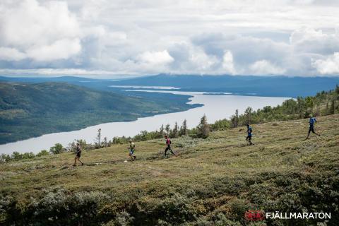 Kia Fjällmaraton-veckan blev en publikfest