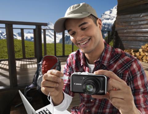 Håll reda på dina resor med enastående detaljer med hjälp av Canon PowerShot SX230 HS med GPS-funktioner