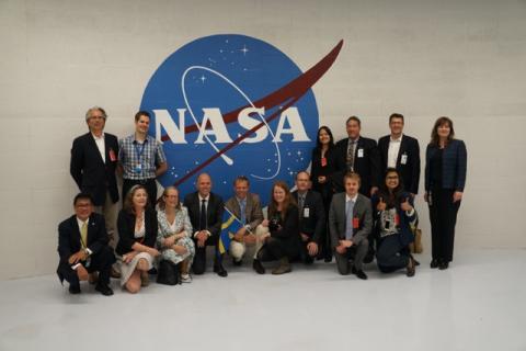 Swedish Delegation at NASA Ames visit June 10-11, 2013