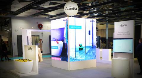 Badrummet i fokus när Alterna Badrum åter ställer ut på Stockholm Furniture Fair