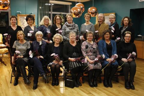 Jubilarer för 25 års tjänst i Skara kommun, 2016