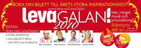 LevaGalan blir en hel LevaDag. Kändistätt när Clarion skänker vinst.